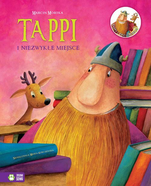 okładka Tappi i niezwykłe miejsce, Książka | Mortka Marcin
