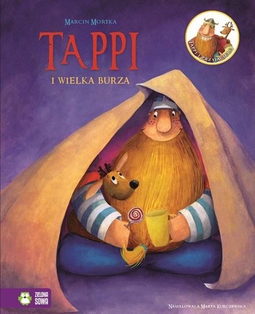okładka Tappi i przyjaciele. Część 5. Tappi i wielka burza, Książka | Mortka Marcin