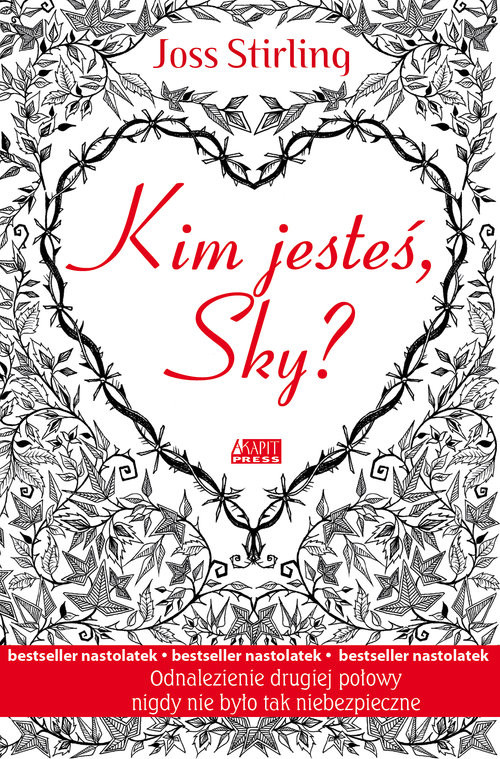 okładka Kim jesteś, Sky?książka      Stirling Joss
