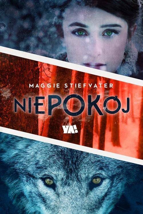 okładka Niepokój, Książka | Stiefvater Maggie
