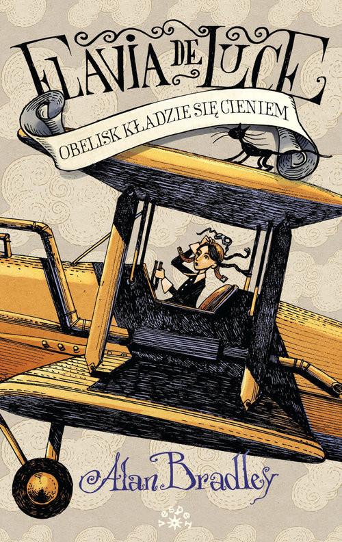 okładka Obelisk kładzie się cieniem, Książka | Bradley Alan