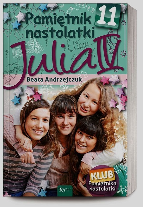 okładka Pamiętnik nastolatki 11. Julia IV, Książka | Beata Andrzejczuk