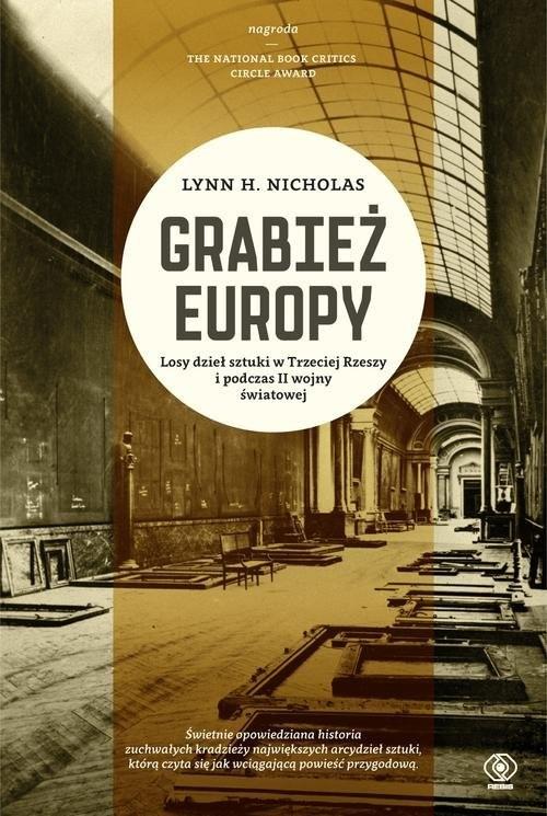 okładka Grabież Europy, Książka | Lynn H. Nicholas