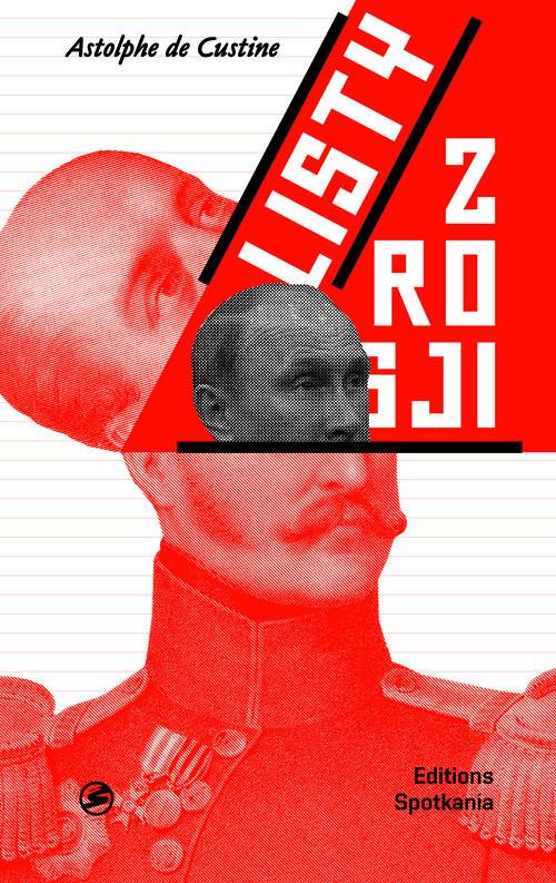 okładka Listy z Rosji, Książka | Coustine Astolphe