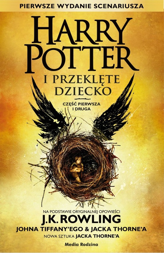 okładka Harry Potter i Przeklęte Dziecko cz. I i II, Książka | Joanne K. Rowling, John Tiffany, Jack Thorne