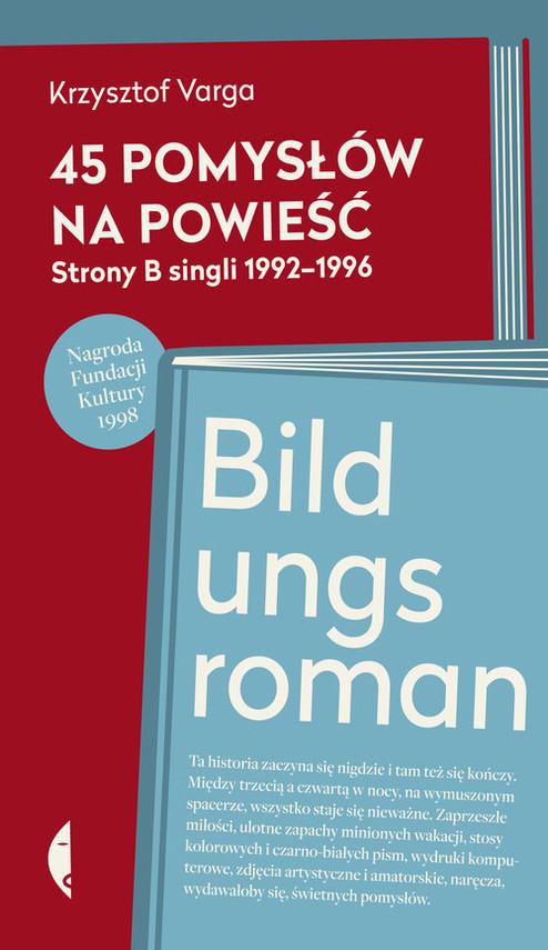 okładka 45 pomysłów na powieść, Książka | Krzysztof Varga