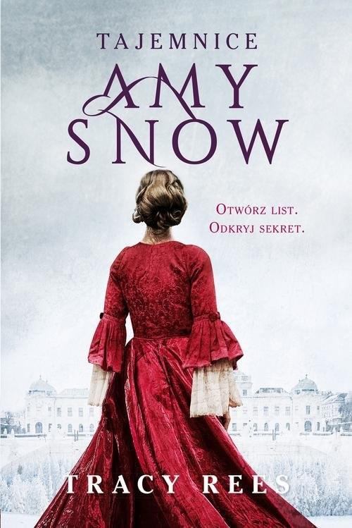 okładka Tajemnice Amy Snow, Książka | Rees Tracy