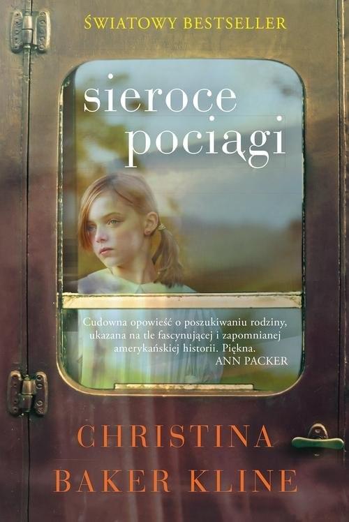 okładka Sieroce pociągi, Książka | Baker-Kline Christina