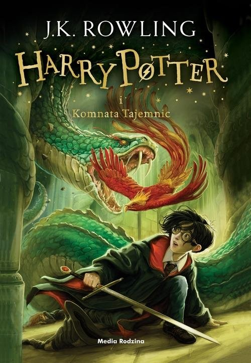 okładka Harry Potter i Komnata Tajemnic, Książka | K. Rowling Joanne