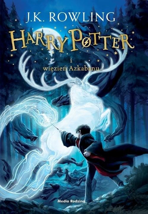 okładka Harry Potter i więzień Azkabanu. KsiążkaK. Rowling Joanne