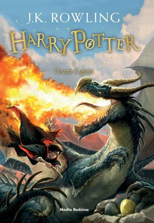 okładka Harry Potter i czara ognia, Książka | K. Rowling Joanne