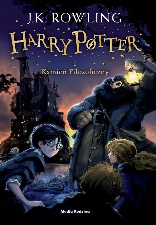 okładka Harry Potter i kamień filozoficzny. KsiążkaK. Rowling Joanne