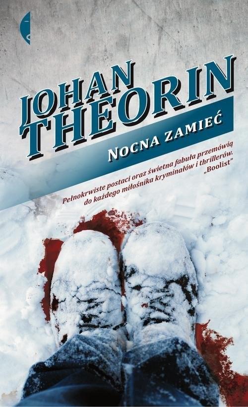 okładka Nocna zamieć, Książka | Theorin Johan