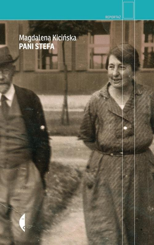okładka Pani Stefa, Książka | Kicińska Magdalena