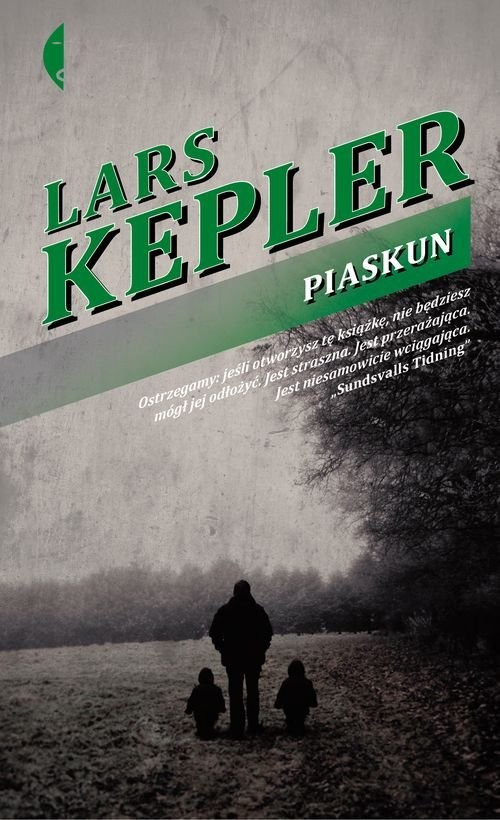 okładka Piaskun, Książka   Kepler Lars