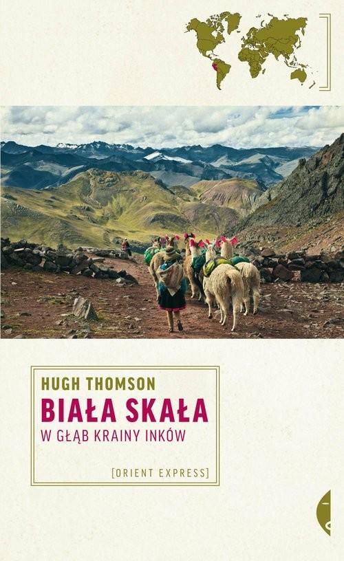 okładka Biała Skała, Książka | Thomson Hugh