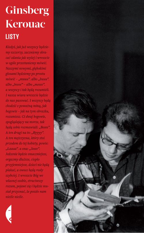 okładka Listy, Książka | Jack Kerouac, Allen  Ginsberg