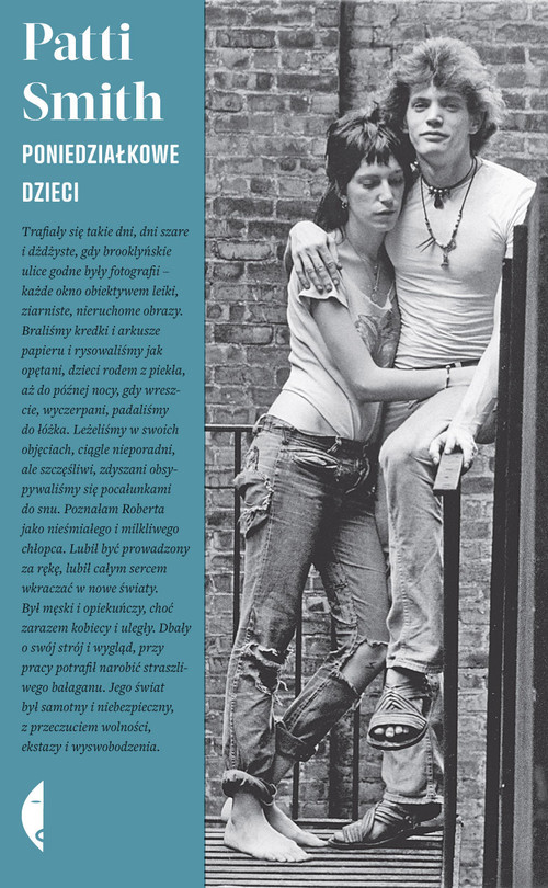 okładka Poniedziałkowe dzieci, Książka   Patti Smith