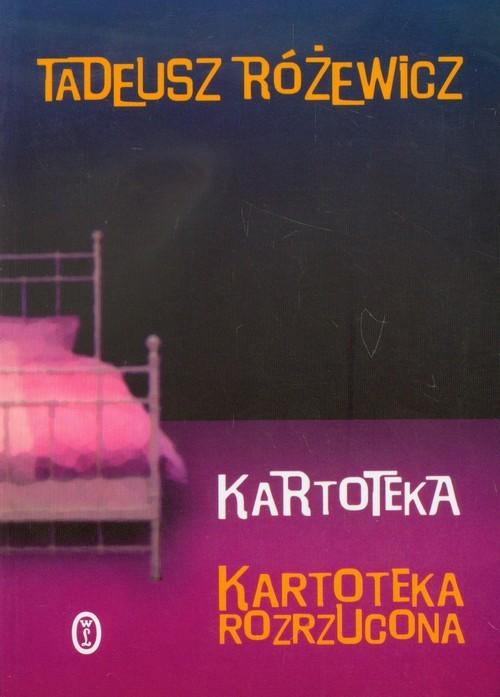 okładka Kartoteka. Kartoteka rozrzucona, Książka | Różewicz Tadeusz