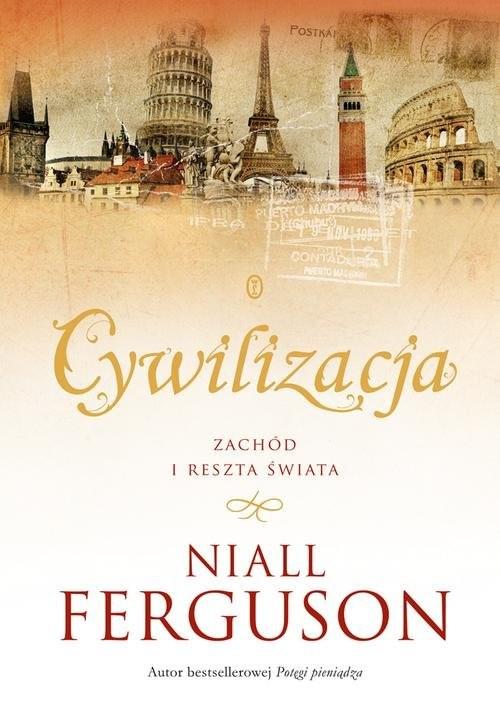 okładka Cywilizacja, Książka | Niall Ferguson