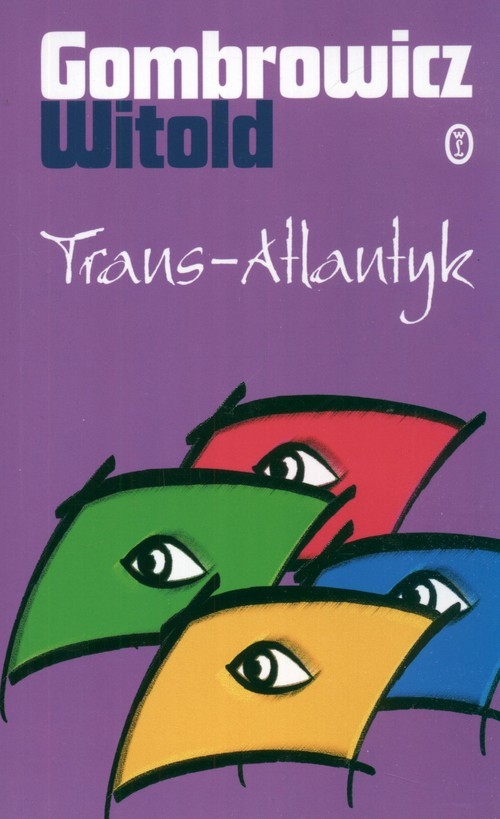 okładka Trans Atlantyk, Książka | Gombrowicz Witold