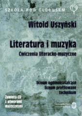 okładka J.p Ćwiczenia liter-muzyczne LO (+2 CD gratis!)książka      Uszyński Witold