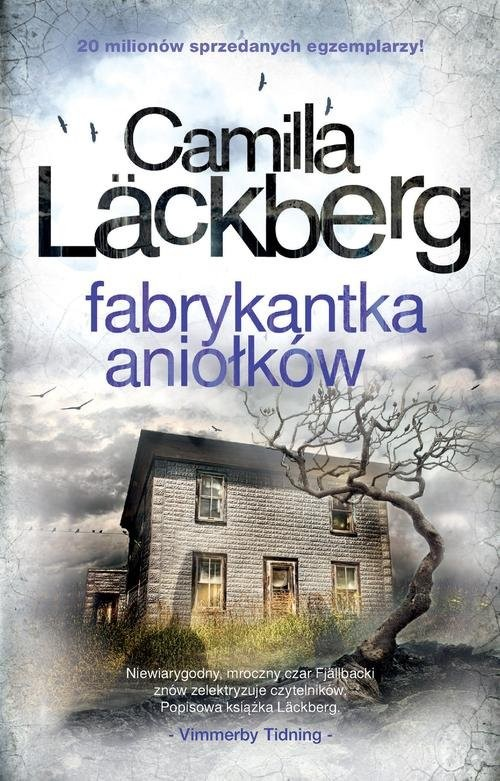 okładka Fabrykantka aniołków książka      Camilla Läckberg