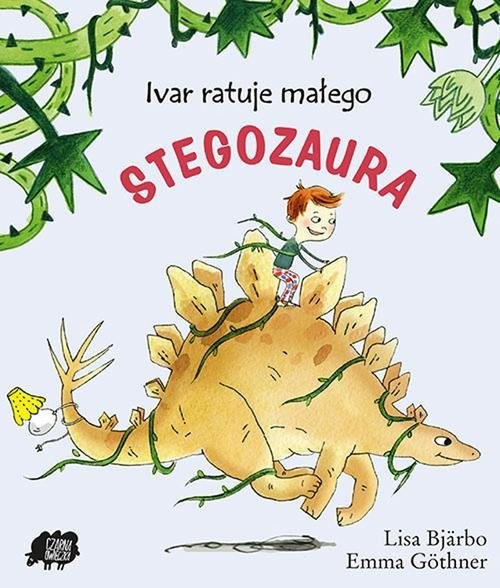 okładka Ivar ratuje małego stegozaura, Książka | Bjarbo Lisa