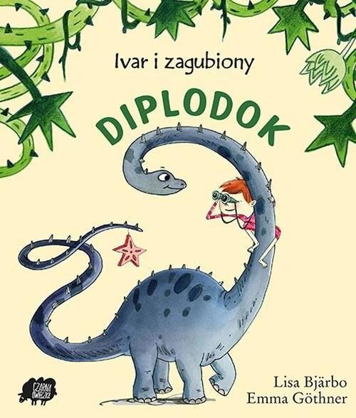 okładka Ivar i zagubiony diplodok, Książka | Bjarbo Lisa