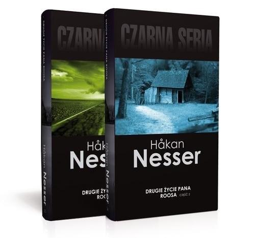 okładka Drugie życie pana Roosa. Część 1 i 2. Pakiet, Książka | Nesser Hakan