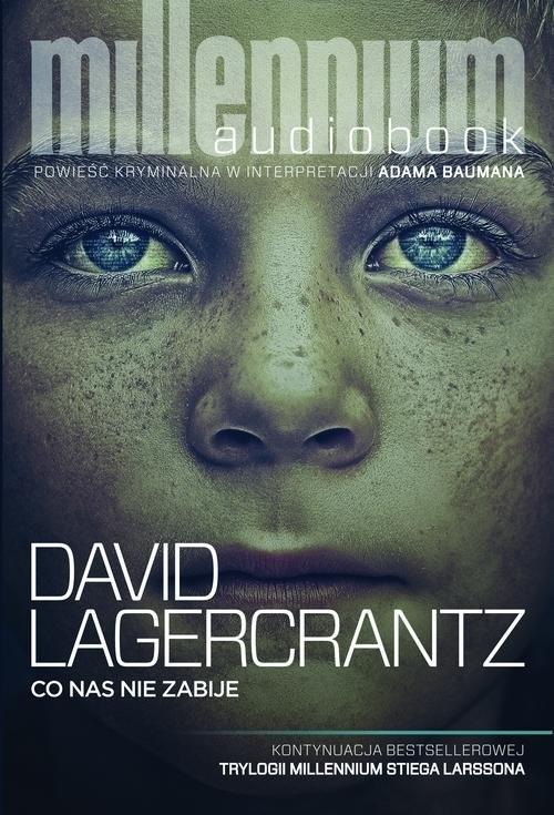 okładka Co nas nie zabije, Książka | Lagerkrantz David