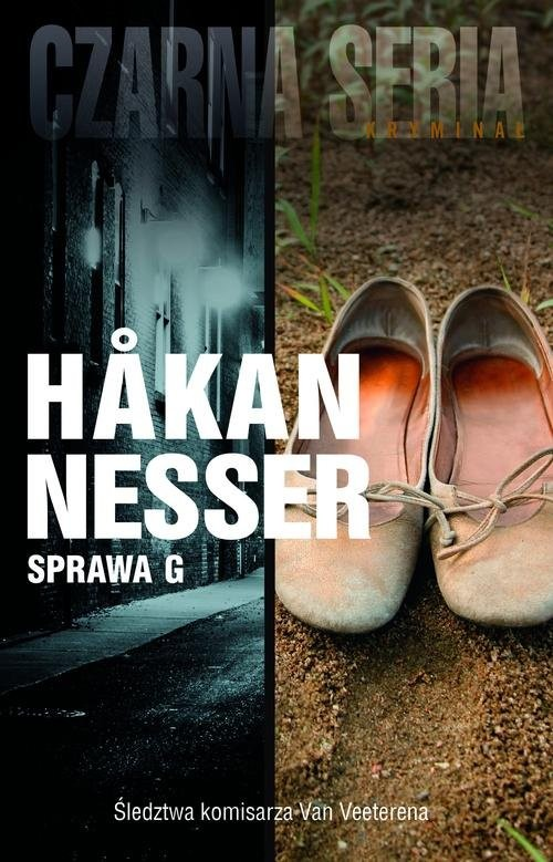 okładka Sprawa G, Książka | Nesser Hakan
