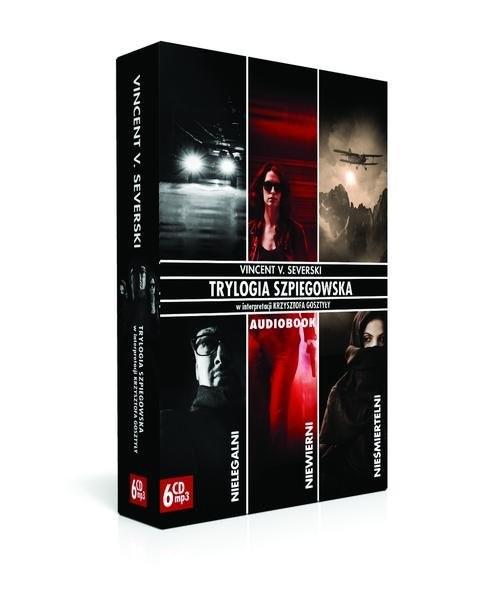 okładka Pakiet. Trylogia Szpiegowska (Audiobook), Książka | Vincent V. Severski