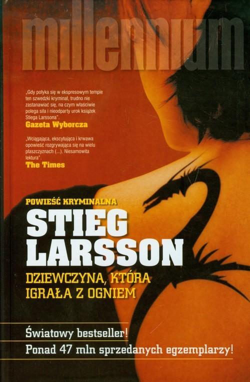 okładka Dziewczyna, która igrała z ogniemksiążka |  | Larsson Stieg