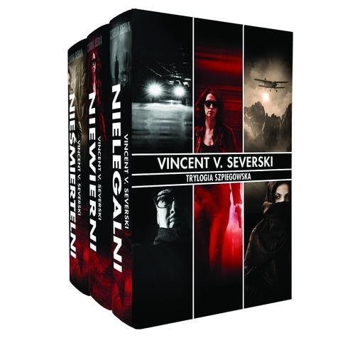 okładka Trylogia Szpiegowska. Pakiet, Książka | Vincent V. Severski
