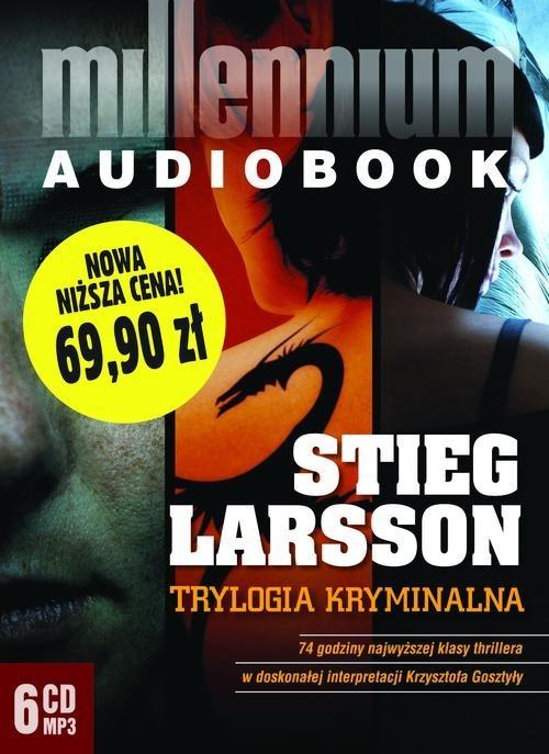 okładka Pakiet - Millennium. Trylogia kryminalna mp3, Książka | Larsson Stieg