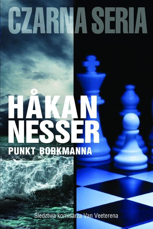 okładka Punkt Borkmanna, Książka | Nesser Hakan