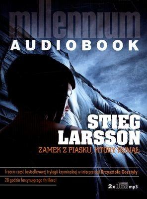 okładka Millennium Tom 3. Zamek z piasku, który runął. CDksiążka      Stieg Larsson