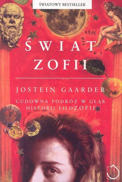 okładka Świat Zofii, Książka | Gaarder Jostein