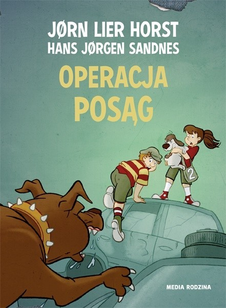 okładka Operacja posąg, Książka | Jorn Lier  Horst