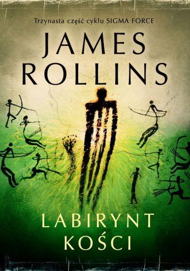 okładka Labirynt kości, Książka | Rollins James