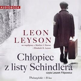 okładka Chłopiec z listy Schindlera. Audiobook, Książka | Leyson Leon