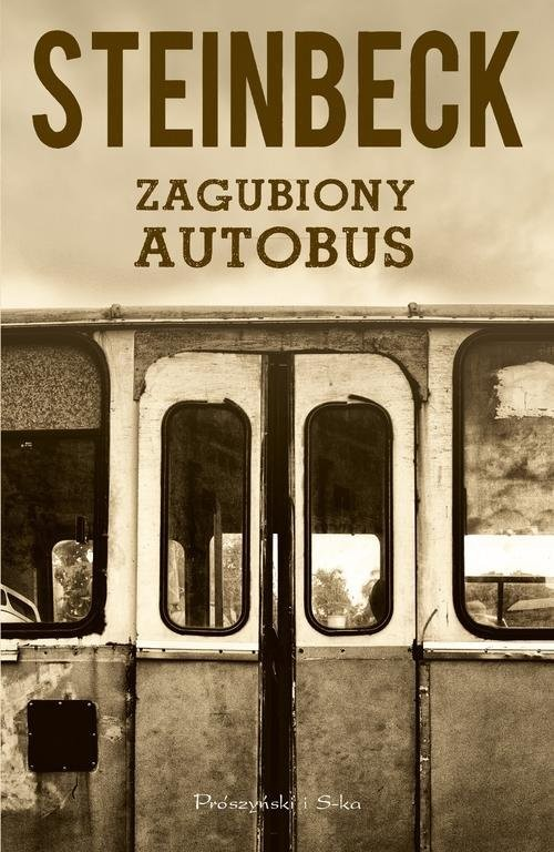 okładka Zagubiony autobus, Książka | John Steinbeck