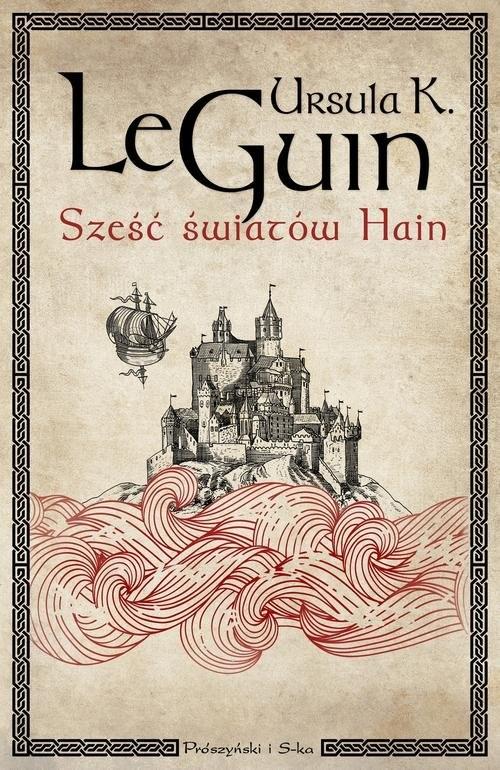 okładka Sześć światów Hain, Książka | Ursula K. Le Guin