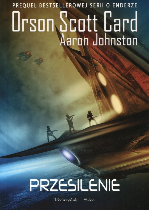 okładka Przesilenie, Książka | Orson Scott Card, Aaron Johnston