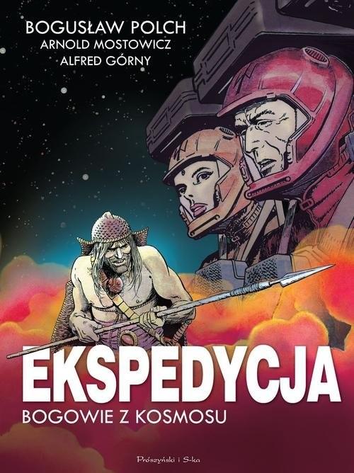okładka Ekspedycja - Bogowie z kosmosu. Wydanie kolekcjonerskie, Książka | Bogusław Polch, Alfred Górny, Arnol Mostowicz