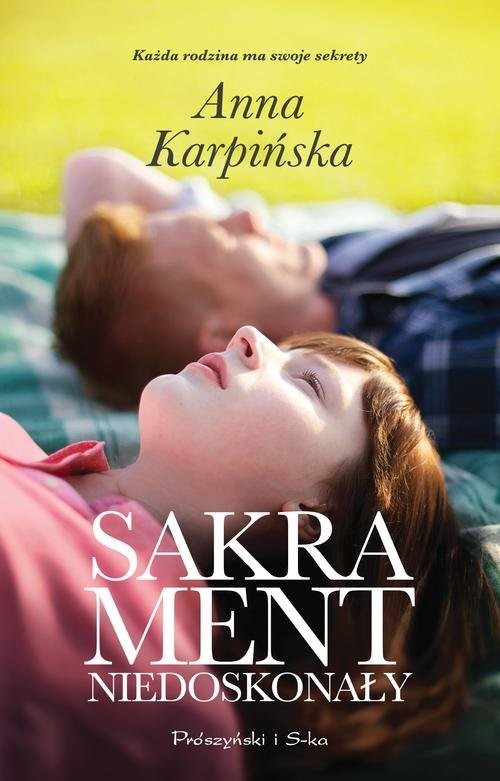 okładka Sakrament niedoskonały, Książka | Karpińska Anna