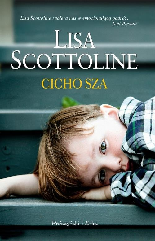 okładka Cicho sza, Książka | Lisa Scottoline
