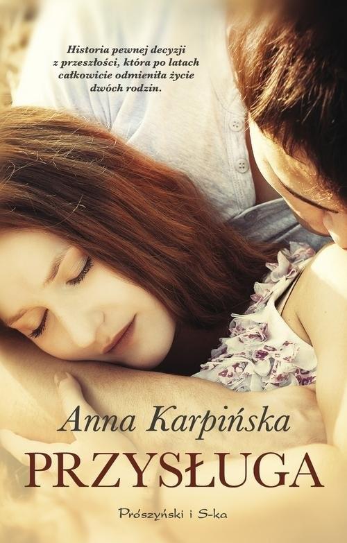 okładka Przysługa, Książka | Karpińska Anna