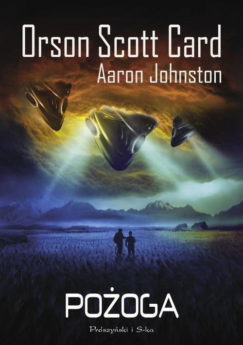 okładka Pożoga, Książka | Orson Scott Card, Aaron John Ston